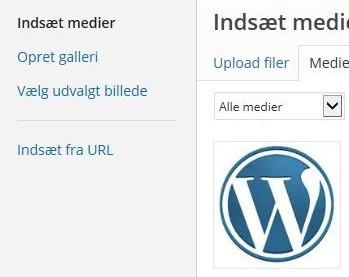 Opret et galleri i WordPress